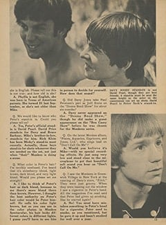 <cite>Monkee Spectacular</cite> (March 1968), Monkee Rumors, Page 13