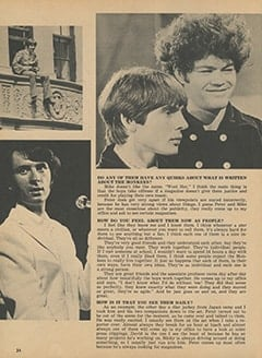 <cite>Monkee Spectacular</cite> (March 1968), Barbara Hamaker Talks About Her Groovy Job with The Monkees, Page 24
