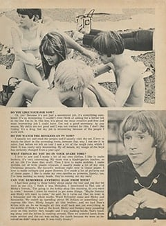 <cite>Monkee Spectacular</cite> (March 1968), Barbara Hamaker Talks About Her Groovy Job with The Monkees, Page 25