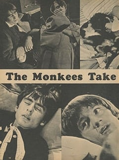 <cite>Monkee Spectacular</cite> (March 1968), The Monkees Take Five, Page 48