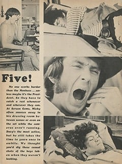 <cite>Monkee Spectacular</cite> (March 1968), The Monkees Take Five, Page 49