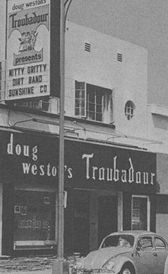Mike's Troubadour Days