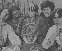 Davy Jones, Micky Dolenz, Barbara Hamaker, Peter Tork, Mike Nesmith