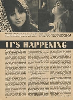 <cite>Tiger Beat</cite> (March 1968), It's Happening in Hollywood, Page 14