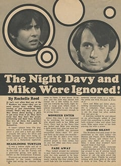 <cite>Tiger Beat</cite> (March 1968), The Night Davy and Mike Were Ignored, Page 46