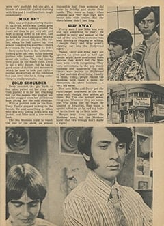 <cite>Tiger Beat</cite> (March 1968), The Night Davy and Mike Were Ignored, Page 47