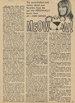 <cite>Tiger Beat</cite> (March 1968), Meow…w!, Page 59