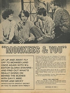 <cite>16</cite> (April 1968), Monkees &amp; You, Page 03