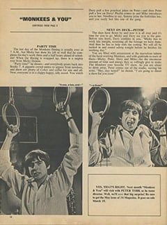 <cite>16</cite> (April 1968), Monkees &amp; You, Page 10