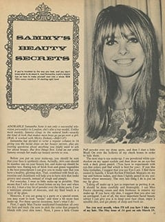 <cite>16</cite> (April 1968), Sammy's Beauty Secrets, Page 11
