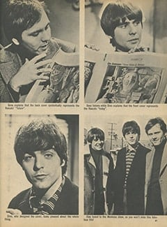 <cite>16</cite> (April 1968), Rascals Raid The Monkees Show, Page 61