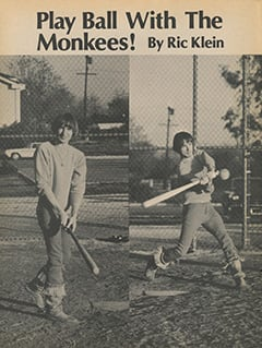 <cite>Flip</cite> (April 1968), Play Ball with The Monkees, Page 52