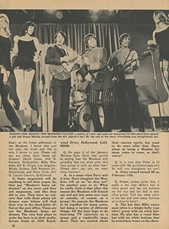 <cite>Monkee Spectacular</cite> (April 1968), Monkee Rumors, Page 32