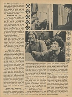 <cite>Monkee Spectacular</cite> (April 1968), What Peter Has Learned from Micky, Page 45