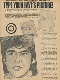 <cite>Monkee Spectacular</cite> (April 1968), Type Your Fave's Picture, Page 61