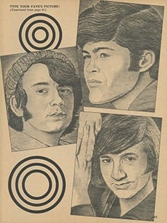 <cite>Monkee Spectacular</cite> (April 1968), Type Your Fave's Picture, Page 63