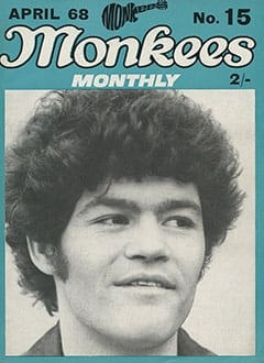 <cite>Monkees Monthly</cite> (April 1968) cover