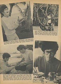 <cite>Tiger Beat</cite> (April 1968), Micky&rsquo;s Wild Hawaiian Holiday, Page 11