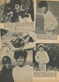 <cite>Tiger Beat</cite> (April 1968), Micky&rsquo;s Wild Hawaiian Holiday, Page 12
