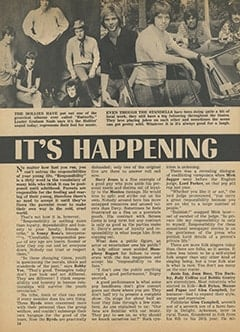 <cite>Tiger Beat</cite> (April 1968), It&rsquo;s Happening in Hollywood, Page 14