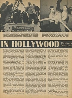 <cite>Tiger Beat</cite> (April 1968), It&rsquo;s Happening in Hollywood, Page 15
