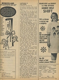 <cite>Tiger Beat</cite> (April 1968), It&rsquo;s Happening in Hollywood, Page 63