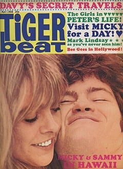 <cite>Tiger Beat</cite> (April 1968)