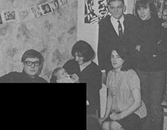 Alex Moore, Mark Jonathan Moore, Lynda Jones Moore, Harry Jones, Beryl Jones, Davy Jones