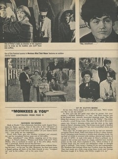 <cite>16</cite> (May 1968), Monkees & You, Page 36