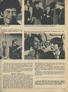 <cite>16</cite> (May 1968), Monkees & You, Page 37