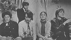 Micky Dolenz, Davy Jones, Mike Nesmith, Mary Friar (Myra De Groot), Peter Tork