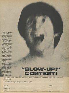 "<cite>Flip</cite> (May 1968), ""Blow-Up!"" Contest, Page 41"