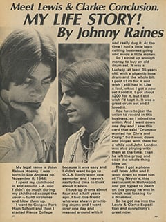 <cite>Flip</cite> (May 1968), My Life Story by Johnny Raines, Page 52