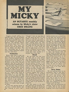 <cite>Monkee Spectacular</cite> (May 1968), My Micky, Page 10