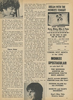 <cite>Monkee Spectacular</cite> (May 1968), My Micky, Page 11