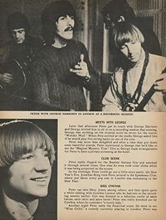 <cite>Monkee Spectacular</cite> (May 1968), Peter's Holiday in London, Page 20