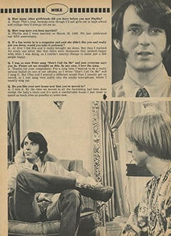 <cite>Monkee Spectacular</cite> (May 1968), You Interview The Monkees, Page 39