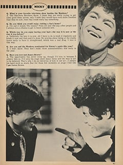 <cite>Monkee Spectacular</cite> (May 1968), You Interview The Monkees, Page 41