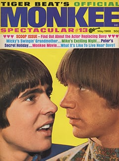 <cite>Monkee Spectacular</cite> (May 1968) cover