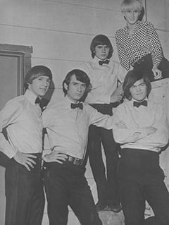 Peter Tork, Mike Nesmith, Davy Jones, Micky Dolenz, Carole Shelyne