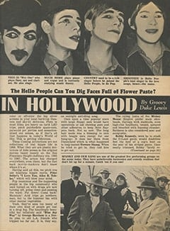 <cite>Tiger Beat</cite> (June 1968), It's Happening in Hollywood, Page 15