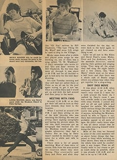 <cite>Tiger Beat</cite> (June 1968), My 5 Groovy Days with The Monkees, Page 48