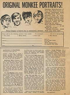 <cite>Tiger Beat</cite> (June 1968), It's Happening in Hollywood, Page 59