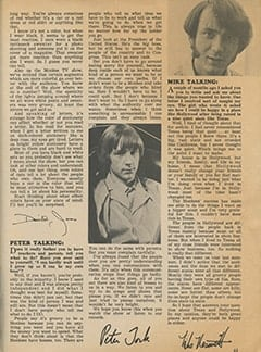 <cite>Tiger Beat</cite> (June 1968), Monkee Talk, Page 63