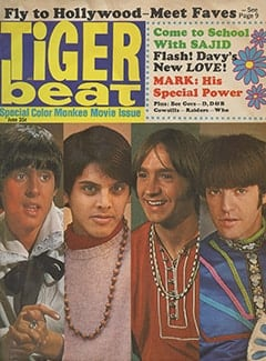 <cite>Tiger Beat</cite> (June 1968)