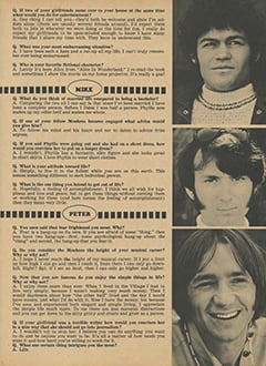 <cite>Monkee Spectacular</cite> (July 1968), You Interview The Monkees, Page 37
