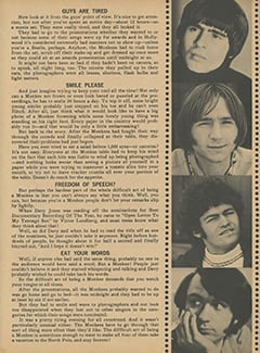 <cite>Monkee Spectacular</cite> (July 1968), The Difficult Art of Being a Monkee, Page 45