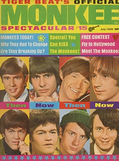 <cite>Monkee Spectacular</cite> (July 1968) cover
