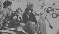 Micky Dolenz, Véronique Duval, Peter Tork, Peter's Girl, Karine Jeantet, Mike's Girl, Mike Nesmith
