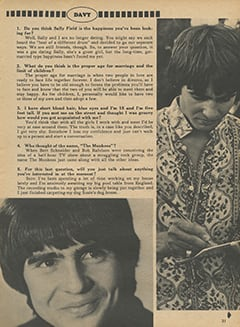 <cite>Monkee Spectacular</cite> (August 1968), You Interview The Monkees, Page 31